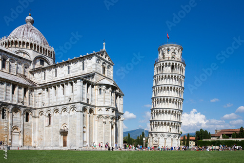 Leaning Tower of Pisa Fototapeta