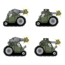 MIni Battle Tank In Action