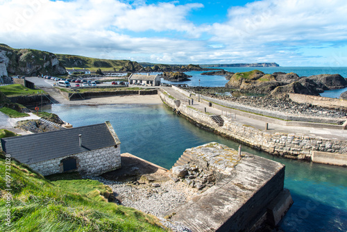 Fotografie, Tablou Ballintoy, Antrim, Northern Ireland