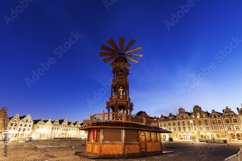 Photo Christmas on Grand Place in Arras