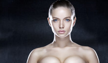 Beauty Portrait Of A Model