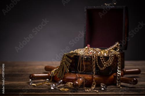Fotomural Treasure chest