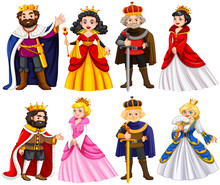 Different Characters Of King A...