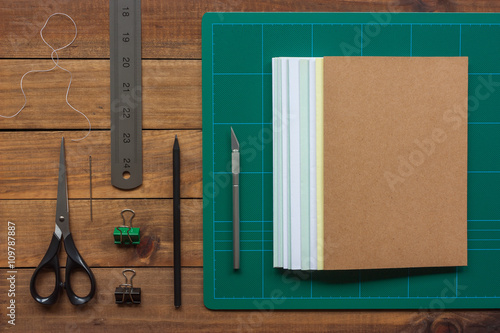 Fotografie, Obraz  Tools for the craft of hand bookbinding