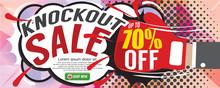 Knockout Sale 1500x600 Pixel V...