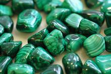 Malachite Mineral Texture