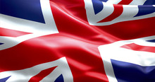 Flag Of Union Jack, Uk Englan...