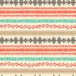 Tribal art ethnic boho seamless pattern
