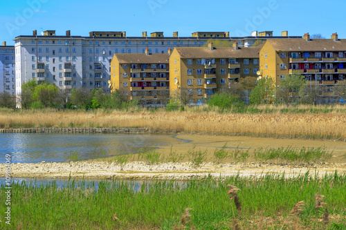 Woodberry Wetland in London Canvas Print