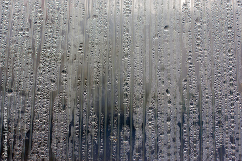 Fabulous Water Droplets On The Wall Polycarbonate Backlit Dramatically Lit By The Sun Different Color Settings Finishing In The Space Lab For Interesting Ideas For Background Buy This Stock Photo And