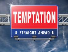 Temptation Resist Devil Tempta...