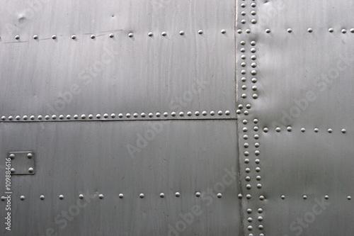 Keuken foto achterwand Leder Metal wallpaper
