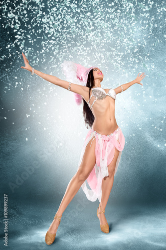 Garden Poster Carnaval Beautiful dancer