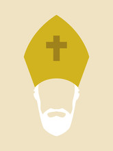 Simple Graphic Of A Roman Cath...