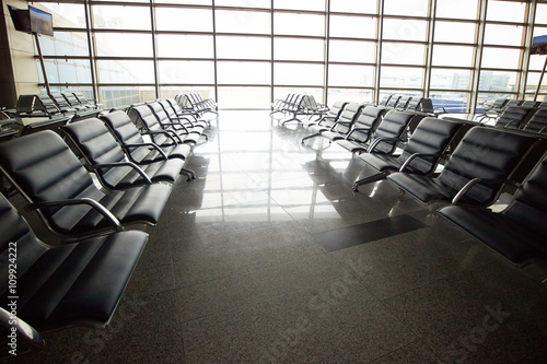 Fototapety, obrazy: waiting hall at airport