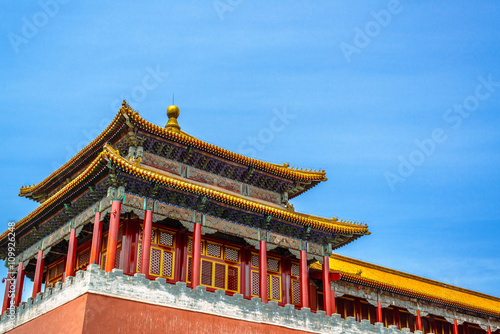 Deurstickers Beijing 后宮