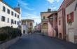 centro storico di Magliano in toscana, Italia