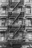 fire stairs in ny - 109931873