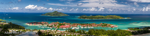 Foto Seychelles Aerial, Eden Island and Inner Islands