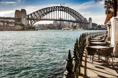 sydney bay and Bridge