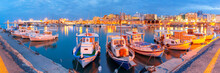 Panorama Of Old Harbour With F...