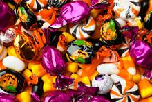 Close-up Of Multicolored Candi...