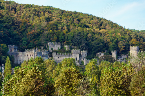 Gwrych Castle Canvas Print