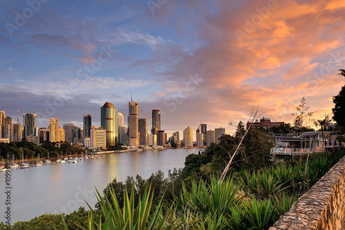 plakat Australia Landscape : City of Brisbane