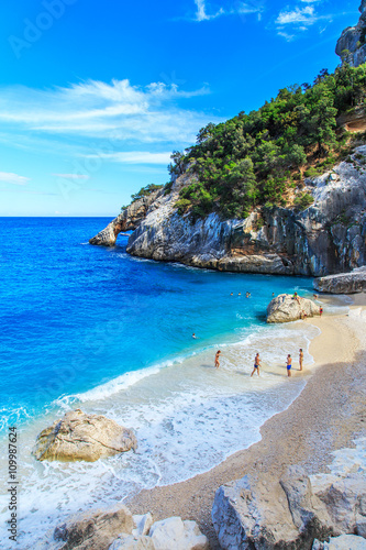 Photo  A view of Cala Goloritze beach, Sardegna