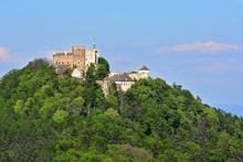 Beautiful Old Castle Buchlov. South Moravia-Czech Republic-Europe.