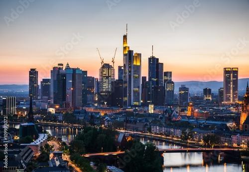 Fototapeta Frankfurt am Main obraz na płótnie