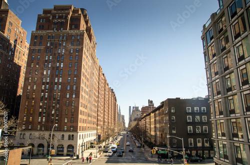 Deurstickers Rotterdam New York