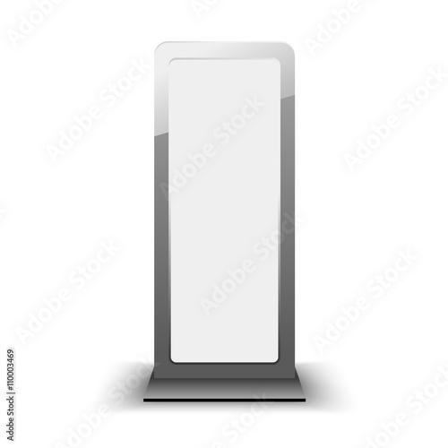 blank city lightbox template blank billboard and outdoor advert