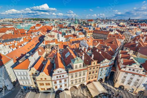 Cityscape of Prague, Czech Republic Poster
