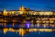 Prague Castle, Hradcany Reflec...