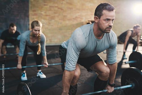 Fotografie, Obraz  Lifting class at the gym