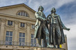 Goethe and Shiller Monument
