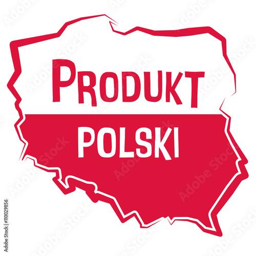 Fototapeta Produkt polski obraz