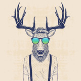 Fototapeta Teenage - cool deer