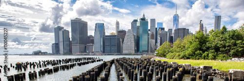 Fotomural  New York City NYC Manhattan island skyline panorama scenic view