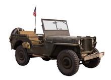 Alter Militär Geländewagen Von 1939-45