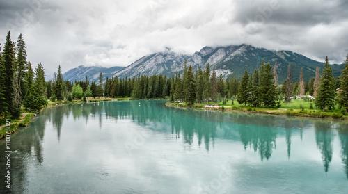 Recess Fitting Canada Bow River at Banff