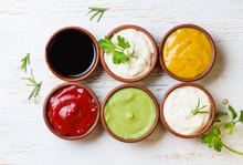 Sauces Ketchup, Mustar, Mayonn...