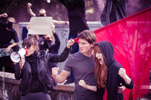 Fotografia, Obraz Insurgents rising up
