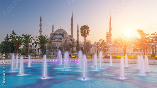 Aluminium Prints Turkey sultanahmet