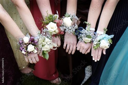 Fényképezés Prom Corsages Girls Beautiful Dresses