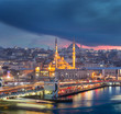 ISTANBUL IN TURKEY 29 JAN 2015 , Hundreds of tourists and loca