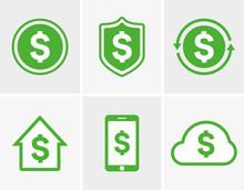 Vector Dollar Logo. Dollar Ico...