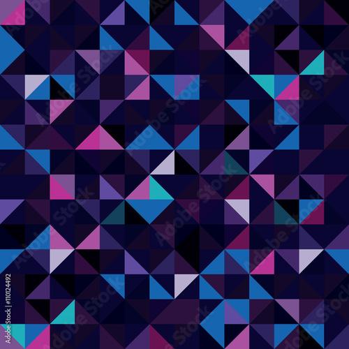 Keuken foto achterwand ZigZag Seamless Pattern of geometric shapes