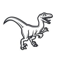 Prehistorical Dino Logo Concep...